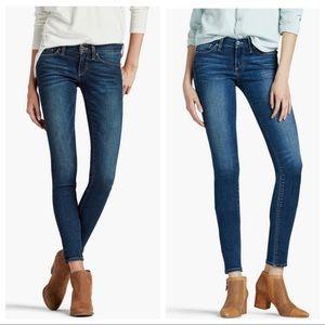 Lucky Brand ANKLE jeans Charlie Skinny denim blue